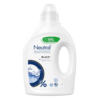 Neutral Flydende Vaskemiddel Black 700 ML
